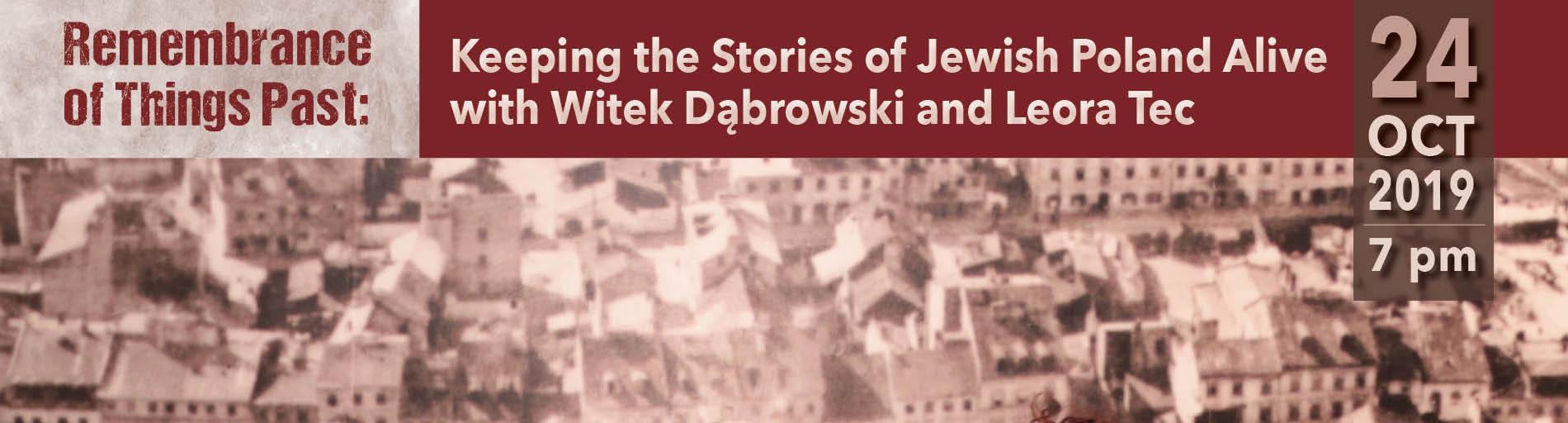 Remembering Jewish Poland