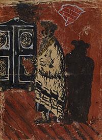 Abraham Koplowicz painting