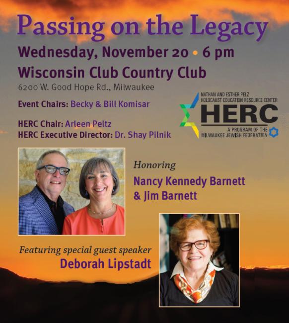 Passing on the Legacy honoring Nancy Kennedy Barnett & Jim Barnett